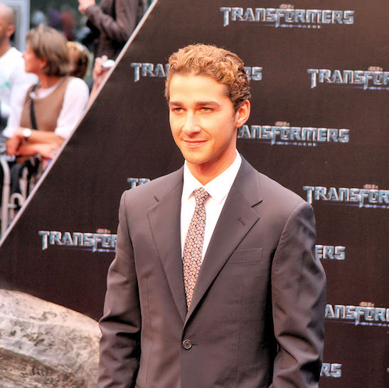 estreno Transformers 2 Berlin Shia Labeouf