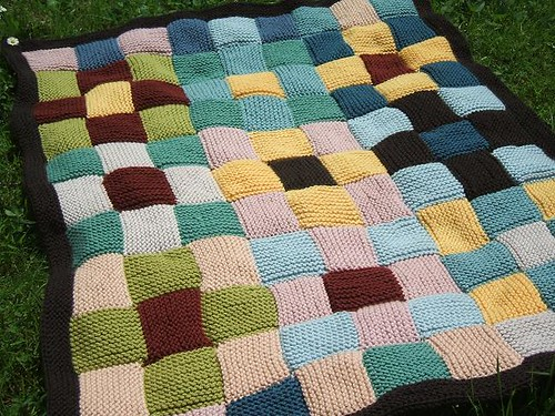 Free Knitting Pattern For Patchwork Quilt : Free Knitting Patterns For Patchwork Blankets