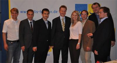 Vom JuLi-Landeskongress in Deggendorf 2009