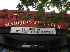 Marquis Theater marquee