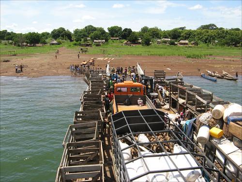 Lake volta ferry