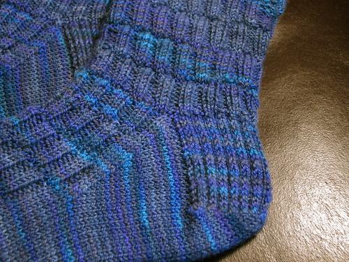 Gentleman's Fancy Socks: heel flap