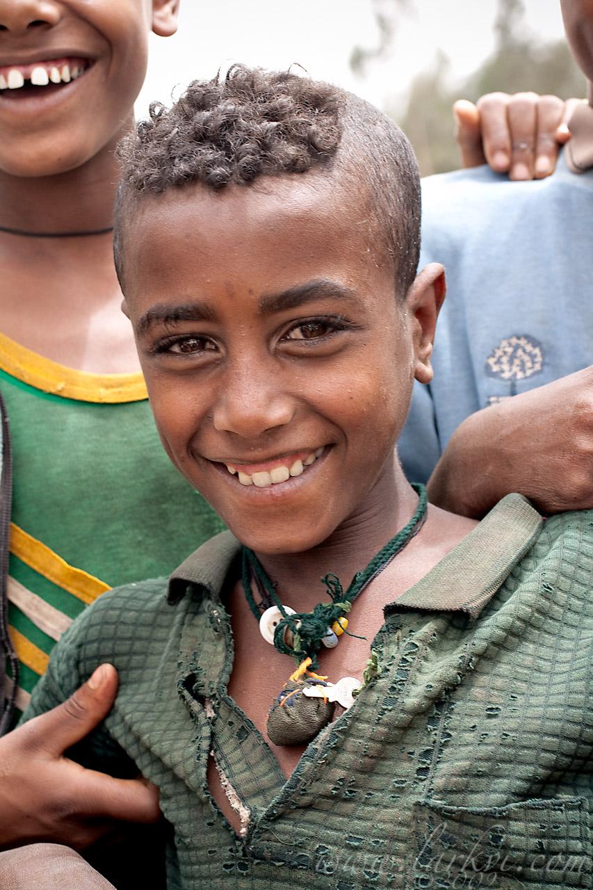 Boy, Gälawdios, Amhara, Ethiopia, July 2009