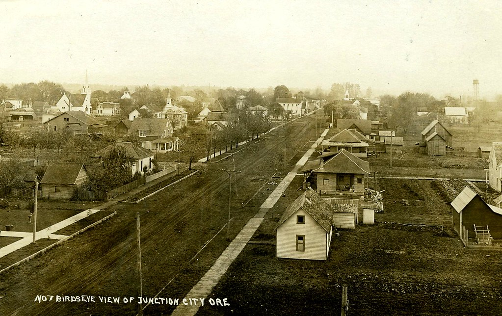 Historical  Junction City. C. 1908. Plus some words from Wordster.