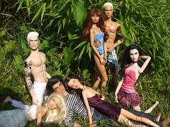 Friendz (Doll-Planet-Loredana) Tags: male female francisco erin ooak barbie lukas daria lilith homme themakingof repaint romeojulia checkingout fashionroyalty primalurges modelofthemoment elementsofsurprise stylestrategy