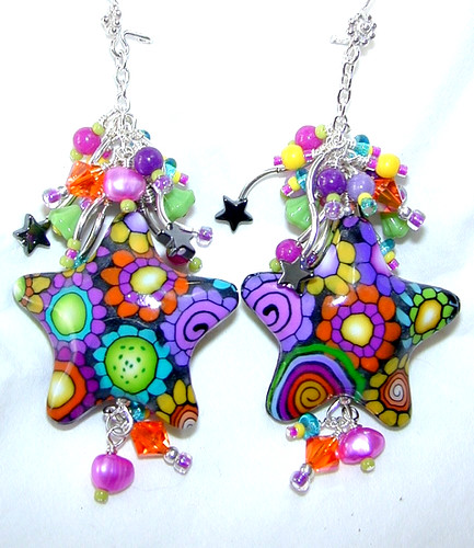 Look what a client of mine is doing with my star beads!