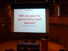 Philip Campbell: Will you pay for good online stuff, Dammit? (Libraries do, thankfully)