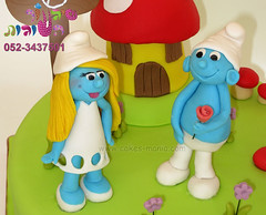 the smurfs cake by cakes mania       (cakes-mania) Tags: children