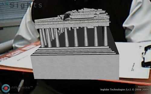 The Parthenon in my hand