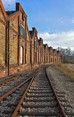 (Heidelknips) Tags: germany nikon tracks rails hafen 1224mm mannheim rheinhafen schienen d90 yourfavs rheinau