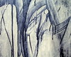 (Scribbles With Cameras) Tags: blue white abstract wall paint haphazartblue