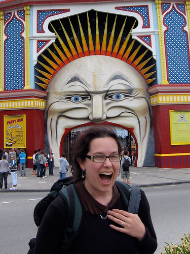 luna park in melbourne