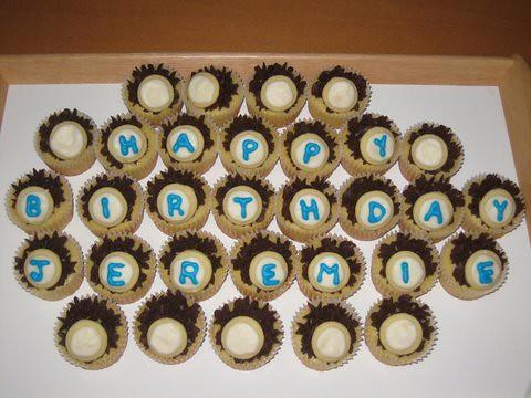 Jeremie's Birthday Cupcakes