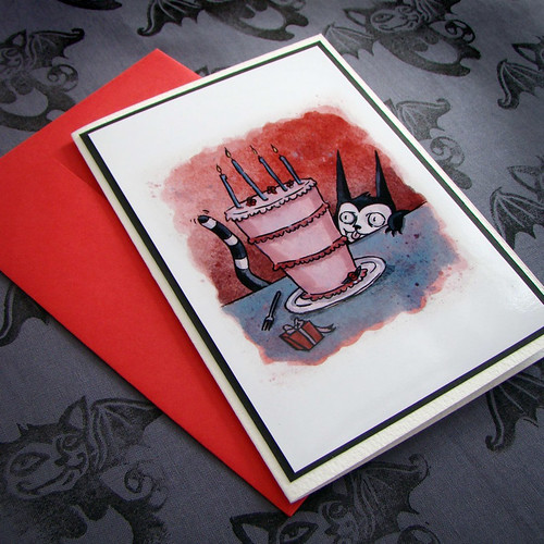 batcat birthday card 1