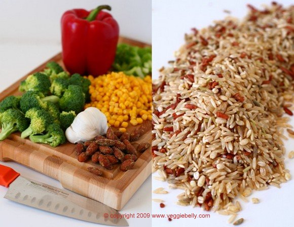 Cajun Brown Rice