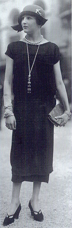 Dress by the House of Jenny, 1920s