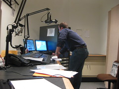 "Lee, Hosting KOOP's ""Writing On The Air"""