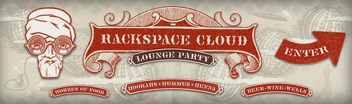 Rackspace Cloud SXSW Lounge BannersEnterSM