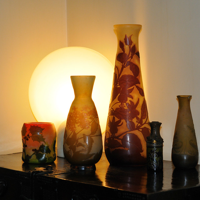 The vases by Gallé