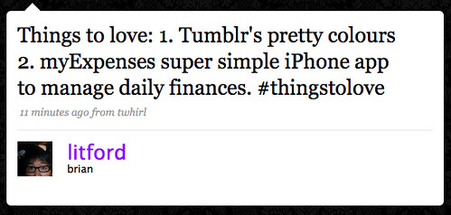 Tweet_Things2Love