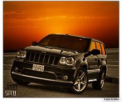 Cherokee Jeep SRT8 (Talal Al-Mtn) Tags: jeep motor cherokee kuwait talal q8 srt8 kwt   almtn
