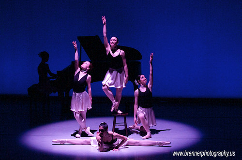 Ballet Dancers in Contemporary Choreography at UC CCM 9 - Ballet Photography & Dance Portraits in Columbus, Ohio