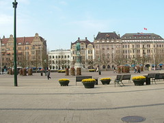 Equestrian Statue of King Karl X in center of Stortorget in Malmo Sweden (litlesam1) Tags: europe sweden malmo scandanavia