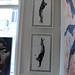 "Jef Aérosol 2009 - new silkscreen print : ""turn the world upside down"""