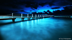 North Narrabeen Ocean Pool (-yury-) Tags: ocean longexposure seascape water pool night landscape sydney australia nsw narrabeen supershot abigfave ultimateshot