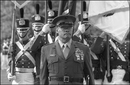 Sgt Maj Al Hockaday