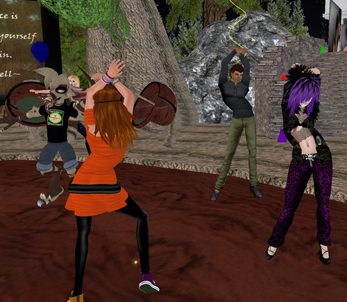 Sehra's Rezday - Haha...Pumpkin showing off