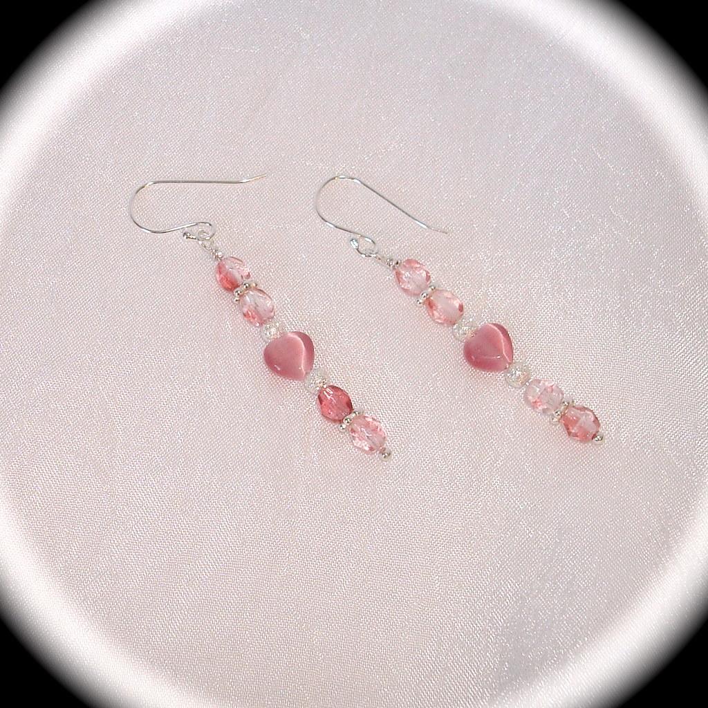 Pin Hearts Earrings