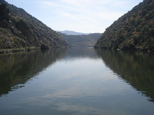 O Rio visto da Linha do Douro