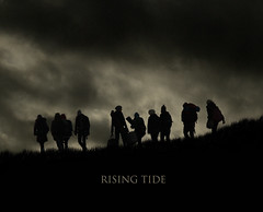 rising tide quad poster