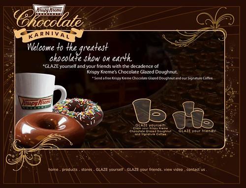 Krispy Kremes Chocolate Carnival
