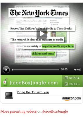 Amazon Affiliate Video Player