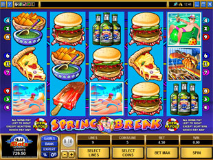 Spring Break slot game online review