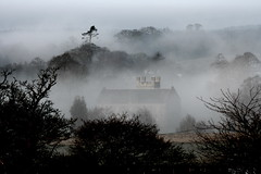 Misty Church (Lets Bike It (Howard D Mattinson in Canonbie)) Tags: morning mist scotland stock stockphoto stockphotography dumfriesshire canonbie stockfoto naturessoundscom hdmattinson howarddmattinson