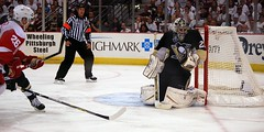 Fleury save (Dave DiCello) Tags: red net ice cup hockey penguins goal referee wings pittsburgh detroit andre arena national stanley marc western rink conference civic playoffs stick puck pens eastern crease league stanleycup mellon igloo fleury mellonarena civicarena sidneycrosby pittsburghpenguins stanleycupchamps marcandrefleury nationalhockeyleague stanleycupchampions evgenimalkin theigloo maximetalbot tylerkennedy pittsburghpens maxtalbot consolenergycenter 2009stanleycupchampions pittsburghpenguinsstanleycupchampionspictures civicarenapittsburghpa sidandgeno penguinhockeyteam mellonarenapittsburgh evad310 davedicello pittsurghpenguins stanleycuprings penguinsstanleycupring maxtalbotgame7
