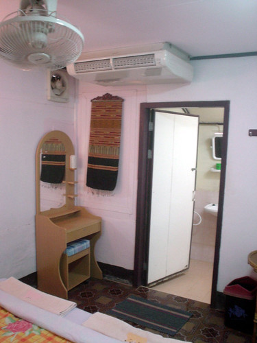 31.Anouxsa Guesthouse的房間內觀