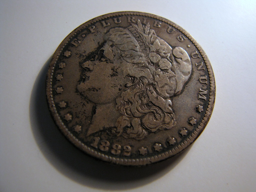 1882 Liberty Silver Dollar With a Story