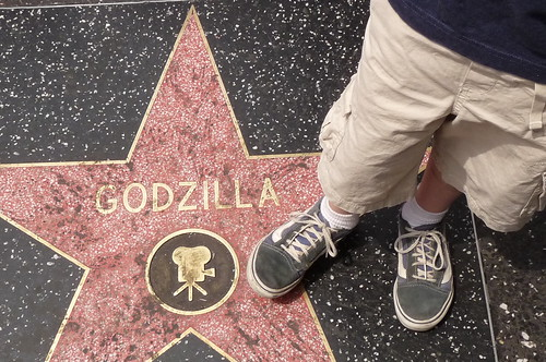 mr. t and godzilla