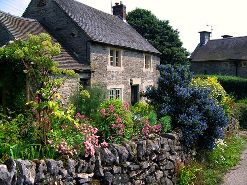 Cottage Garden in Tissington, Derbyshire