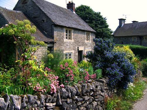 Cottage Garden in Tissington, Derbyshire