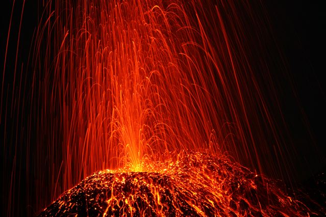 Stromboli : Eruption