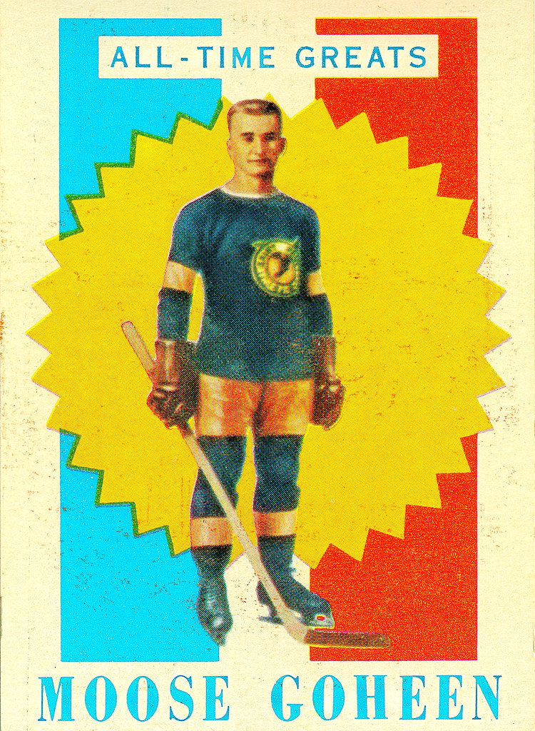 TOPPS NHL Playing Cards 1960-61 — All-Time Greats 10