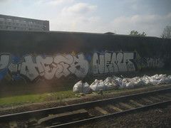 Hefs TPG - Nema TPG (Tatty Seaside Town) Tags: london graffiti graf tpg nema trackside hefs april2009 tattyseasidetown