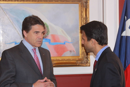 Governors Perry and Jindal by you.