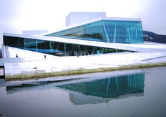 Reflections of Art (bryanDeldridge) Tags: winter oslo norway scandanavia