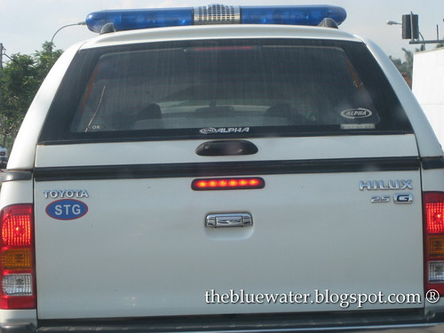 Hilux 4x4 Police Vehicle